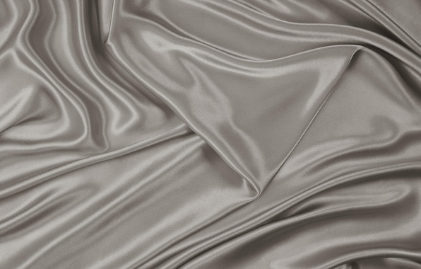 Picture texture, fabric, grey, silver, folds, light