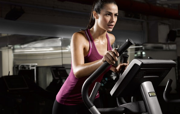 Photo wallpaper fitness, exercise machine, warm-up, transpiration