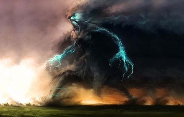 Wallpaper Zipper Lightning God Of Thunder Zeus Thundergod
