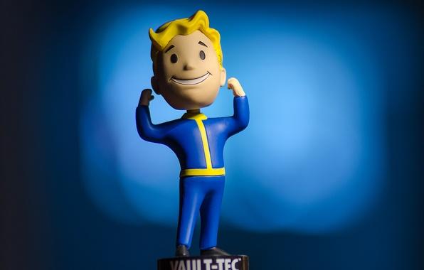 Picture Bethesda Game Studios, Fallout 4, Vault-Tec, Strength Bobblehead
