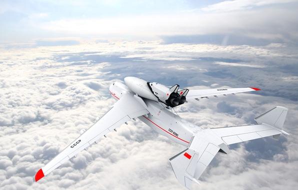 Picture flight, Buran, Mriya