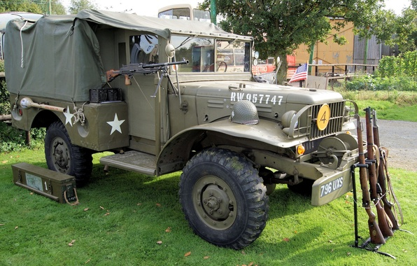 Picture war, car, army, 1943, high, patency, second, world, times, Dodge WC51
