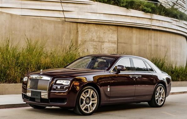 Photo wallpaper GOST, Rolls-Royce, Ghost, rolls-Royce