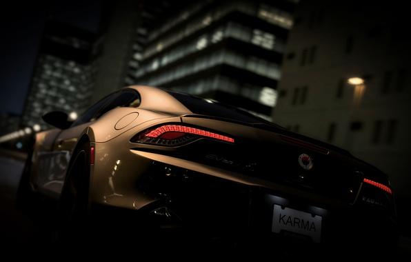 Picture Karma, Fisker, hybrid sedan