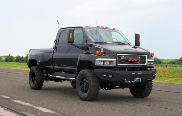 Picture pickup, ironhide, TopKick, GMC