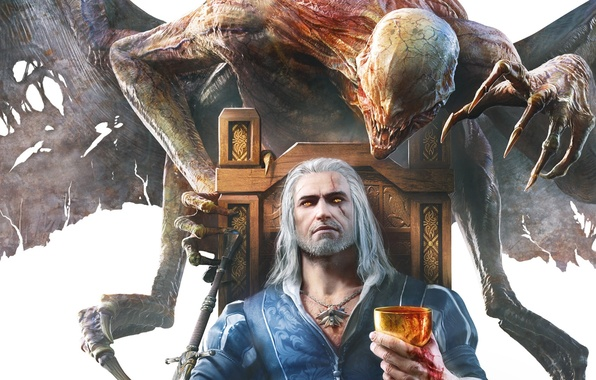 Picture Monster, The Witcher, The Witcher, Geralt, DLC, CD Projekt RED, The Witcher 3: Wild Hunt, …
