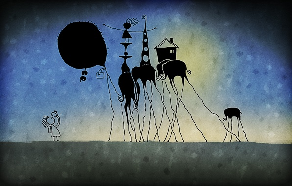 Picture joy, fiction, the game, elephant