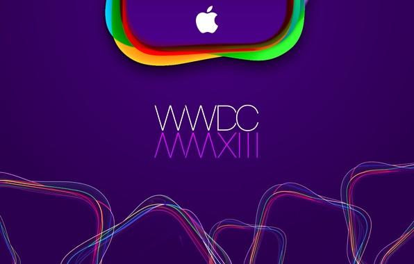 Picture apple, logo, mac, WWDC 2013, WWDC
