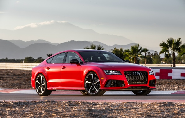 Picture Audi, Audi, Red, RS7