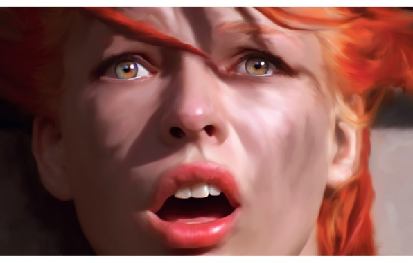 Picture Milla Jovovich, The Fifth Element, Leeloo, The fifth element, Luc Besson