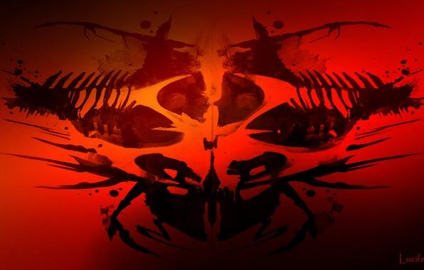 Picture logo, Hitman, Symbol, Rorschach Test, Organikum, Arhxaos