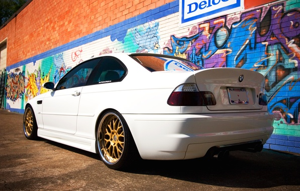 Picture tuning, BMW, BMW, white, E46
