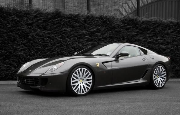 Picture auto, black and white, Ferrari, Project Kahn