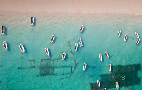 Picture sea, water, boat, Bali, Indonesia