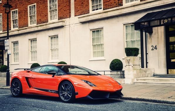 Picture Lamborghini, Gallardo, superleggera, London 2012