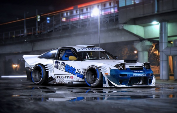Picture Nissan, Car, Body, Rendering, S13, 240SX, Kit, by Khyzyl Saleem