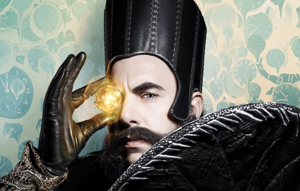 Photo wallpaper Sacha Baron Cohen, Sacha Baron Cohen, 2016, Time, Alice in Wonderland, Alice Through the Looking ...