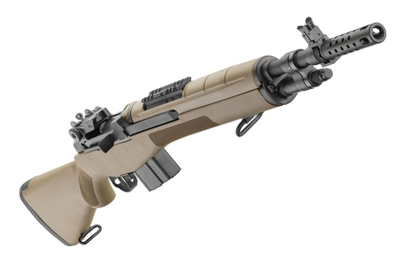Picture weapons, rifle, M1A, Springfield, semi-automatic