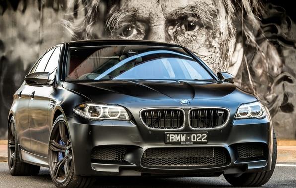 Picture black, BMW, BMW, F10, Sedan, 2015