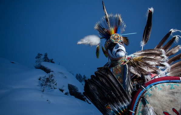 Picture dancer, native, indian, aboriginal