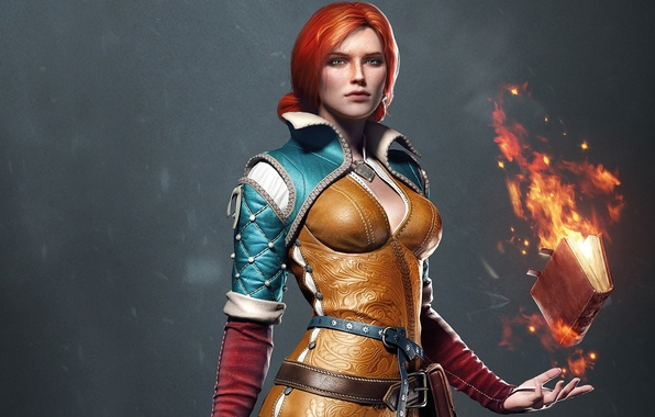 Picture Triss Merigold, Triss Merigold, CD Projekt RED, The Witcher 3: Wild Hunt, The Witcher 3: …
