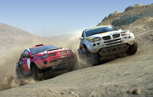 Picture the game, race, Dirt