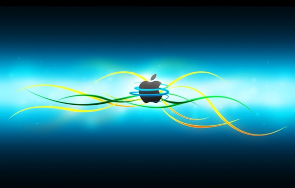 Picture computer, line, color, apple, Apple, logo, mac, phone, laptop, emblem, gadget
