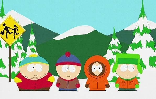 Picture cartoon, South Park, south park