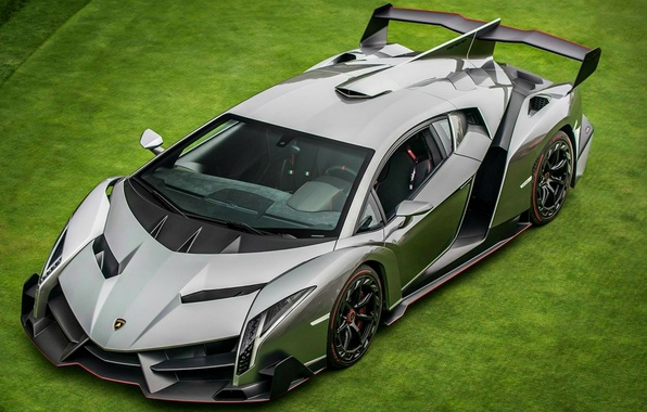 Picture greens, Lamborghini, Machine, supercar, Lamborghini, Veneno, Veneno, from the top