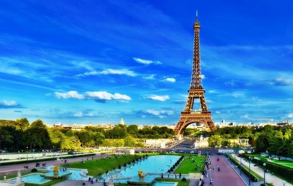 Picture France, Paris, Tower, Europe, Eiffel Tower, Paris, France, Europe