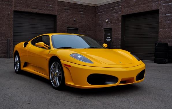 Wallpaper F430 Ferrari Yellow Images For Desktop Section Ferrari