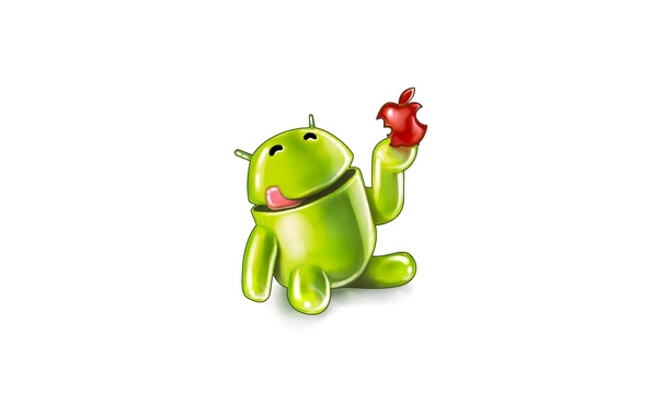 Picture apple, Apple, Android, eats
