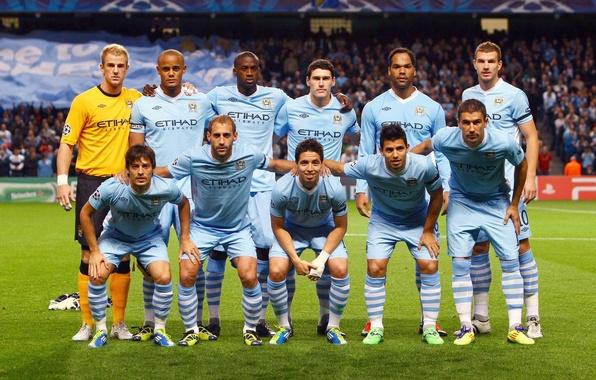 Picture Champions League, Manchester City, Man. City