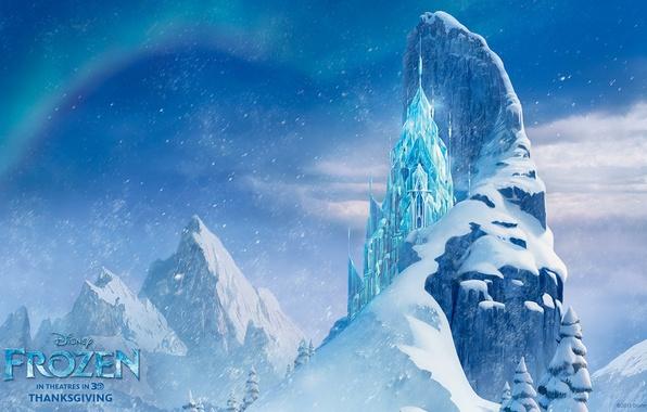 Photo Wallpaper Walt Disney Frozen 2013 Ice Castle Cold Heart