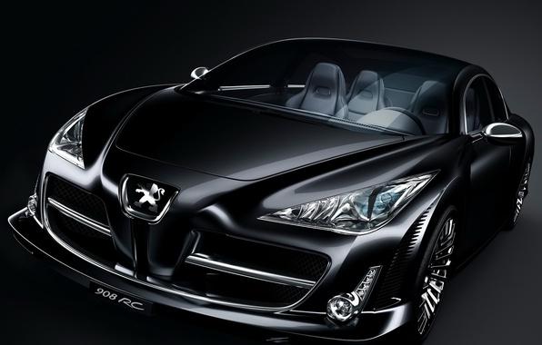 Picture Concept, black, Peugeot