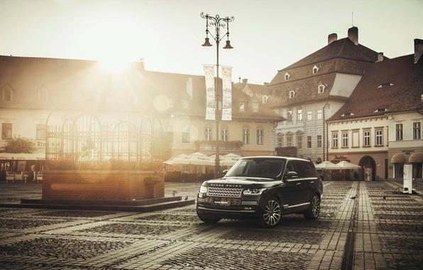 Picture Desktop, Range Rover, Car, Black, Wallpapers, Wallpaper, Automobiles, Vogue, TDV8