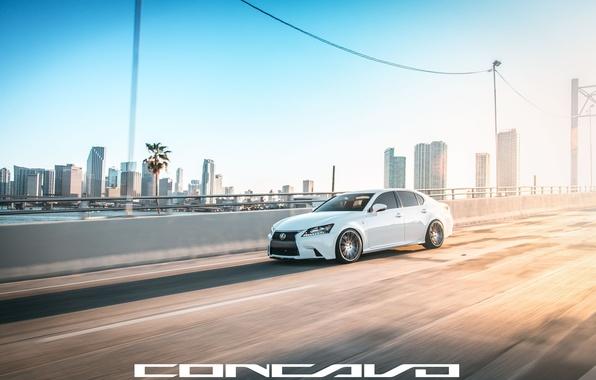 Picture road, machine, auto, Lexus, auto, F-Sport, Wheels, Concave, GS350