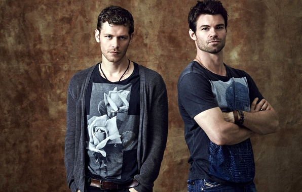 Picture the series, actors, men, Elijah, Joseph Morgan, Klaus, Joseph Morgan, Klaus, Daniel Gillies, Elijah, Original, …