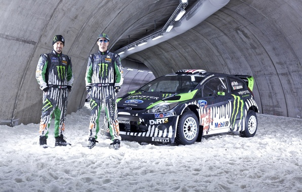 Picture WRC, Ken Block, Ford Fiesta, Rally Racers, Rally racers, Alex Gelsomino