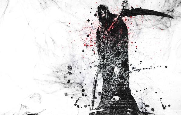 Picture Vector, Skull, Death, Grunge, Sake, Vector, Wallpaper, Death, Grunge