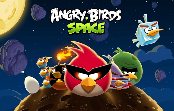Picture angry birds, angry birds, angry birds space