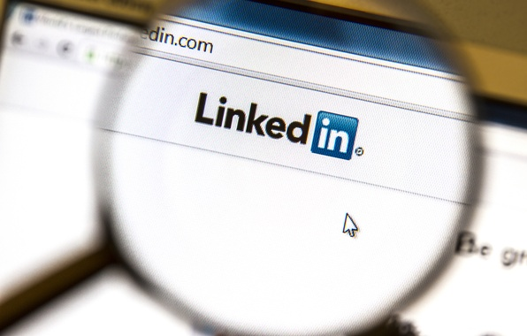 Picture linkedin, marketing, web page