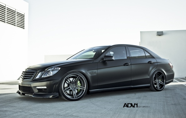 Picture black, Matt, Mercedes, drives, benz, e63