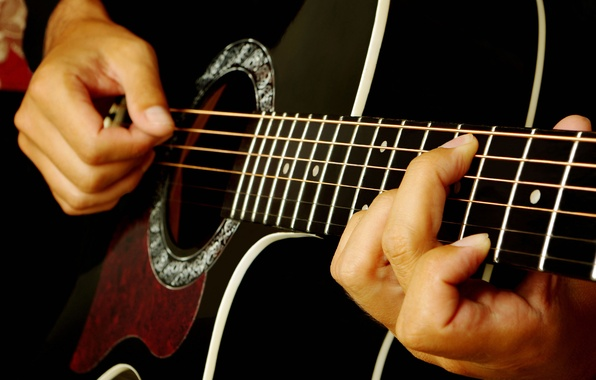 Picture guitar, strings, music, blur, sound, tool, musician, plays, acoustics, Grif, frets, music, bokeh, musical, live, …