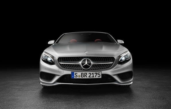 Picture face, Mercedes-Benz, Mercedes, AMG, S 63, S-Class, 2015, A217