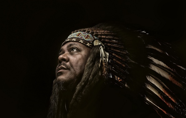 Photo wallpaper portrait, male, Indian