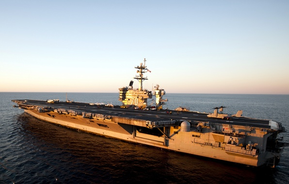 Picture weapons, ship, aircraft carrier, USS Carl Vinson