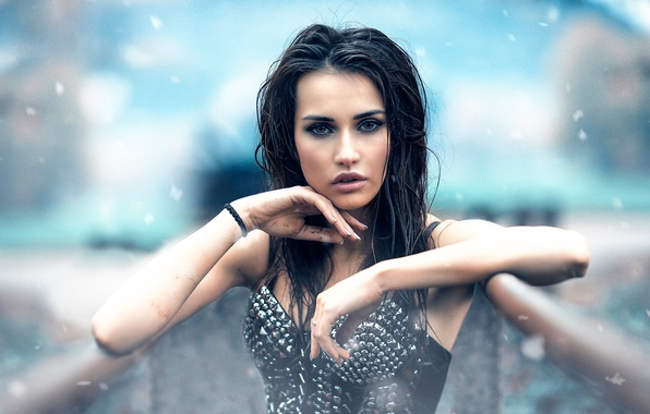 Picture look, girl, makeup, Alessandro Di Cicco, Cold Look
