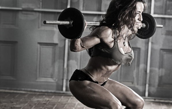 Picture women, fitness, gym, weights, Susie-Romano