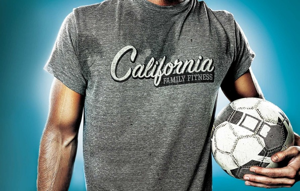 Picture Mike, male, soccer ball, California, Billboard, Family Fitness